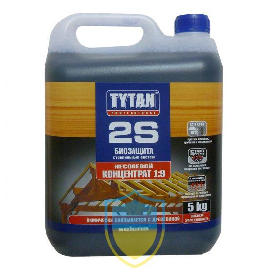 Tytan (Титан) 2S, біозахист будівельної деревини, концентрат 1:9, 5л